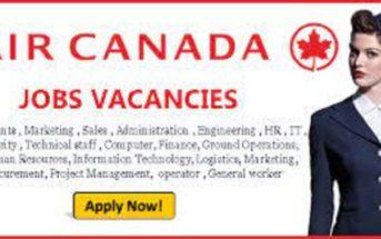 Air Canada Jobs   Exciting Careers Vacancy Openings